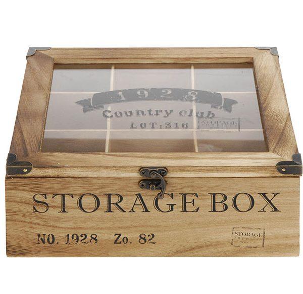 cutie depozitare ceai