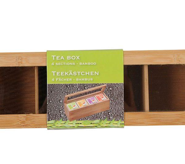 cutie ceai bambus